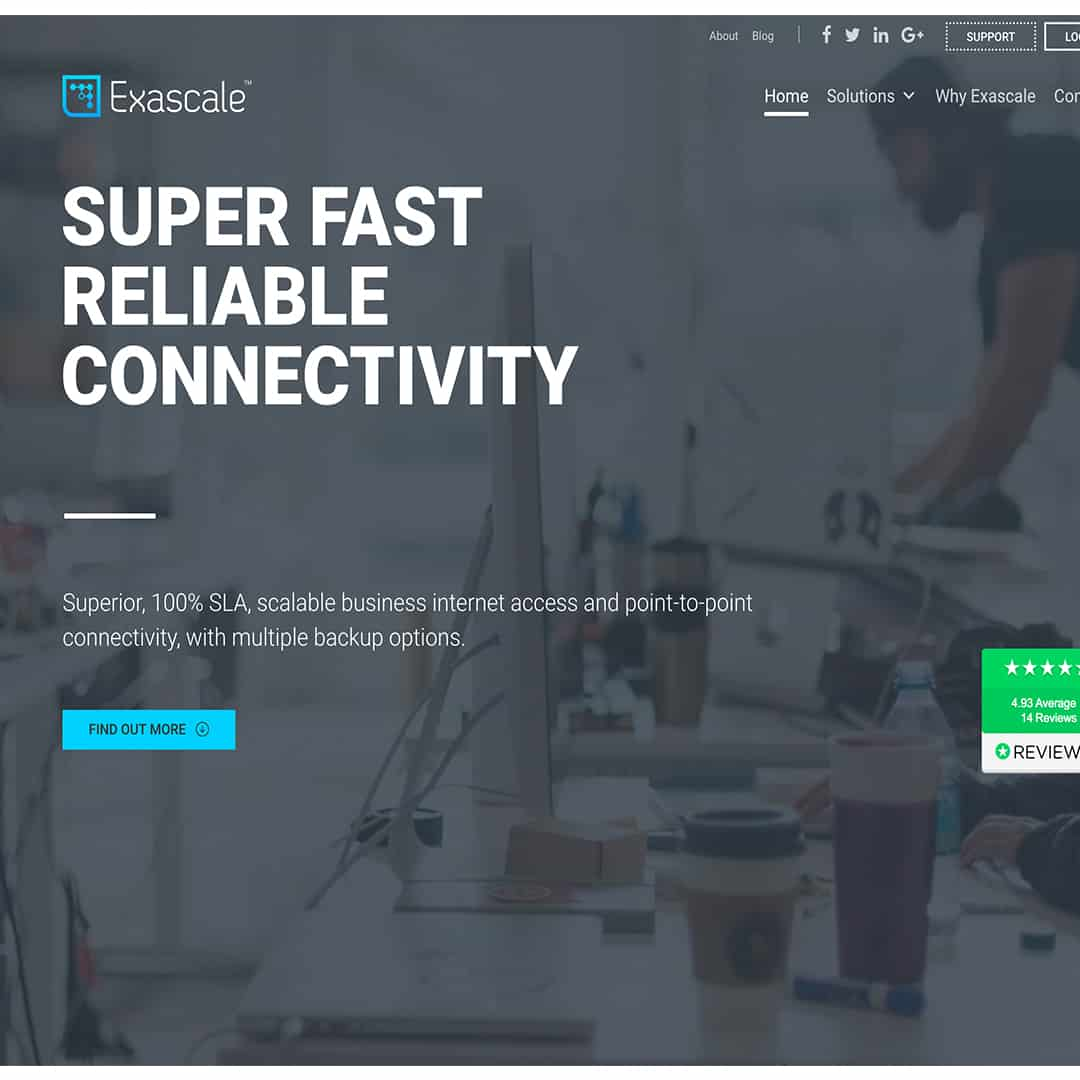 Exascale New Website