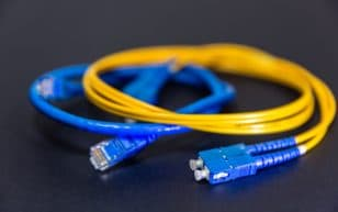 Ethernet Cable and SC Optical Cable